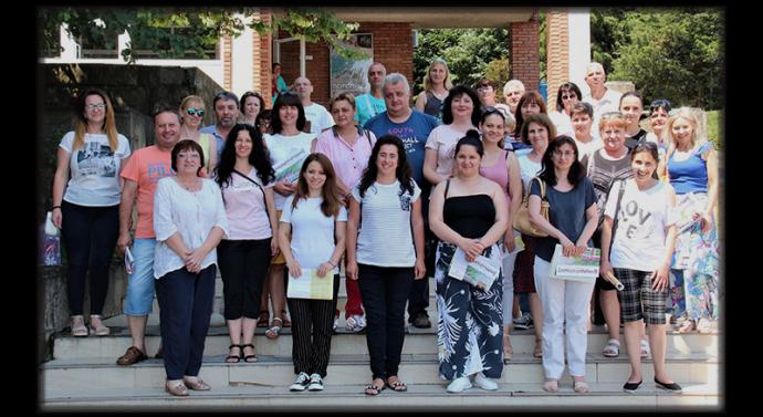 Троянски учители на посещение във Великотърновския университет