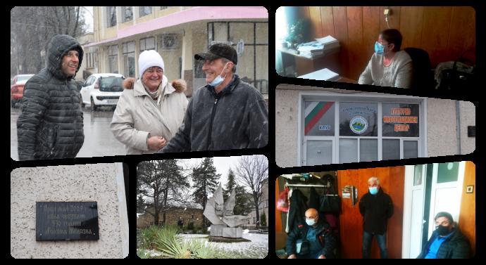 Среща на д-р Александрова с избиратели от с. Голяма Желязна