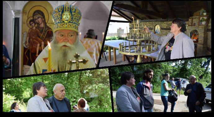 Архиерейска света литургия в Длъжковското