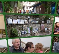 Изложба в двора на художника